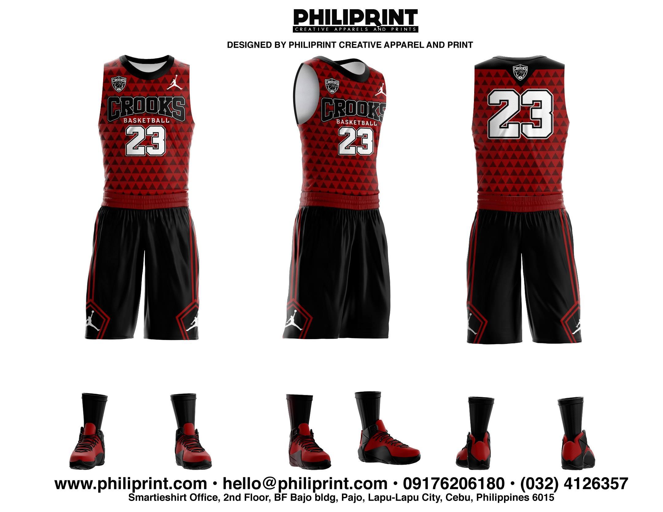 Crooks Full Sublimation Basketball Jersey