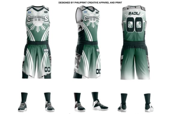 Crimebusters Full Sublimation Basketball Jersey