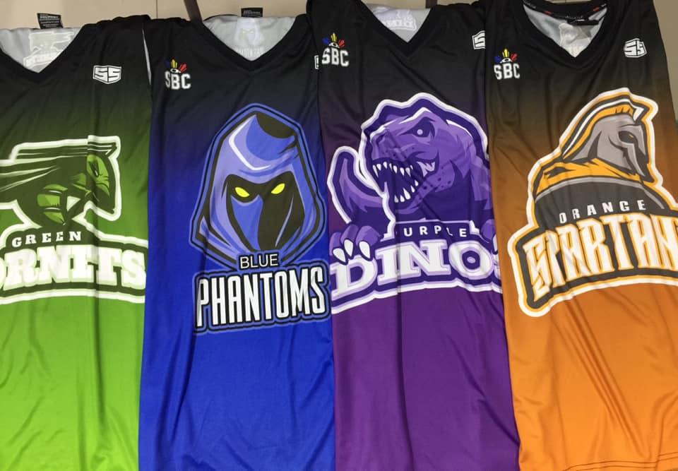 SBC Full Sublimation Basketball Jerseys