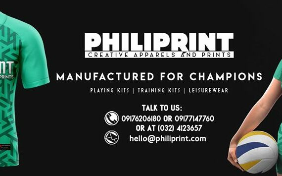 Philiprint Volleyball Jersey Customization Full Sublimation