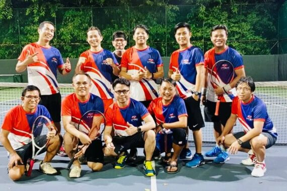 Philiprint YTS Full Sublimation Tennis Jersey