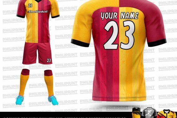 Philiprint Smartieshirt Full Sublimation Football/Soccer Jersey