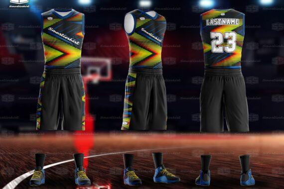 Philiprint Smartieshirt Fast Forward Full Sublimation Basketball Jersey