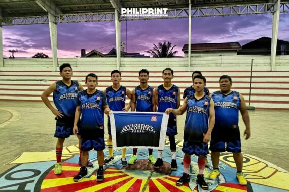 Philiprint BELL SHAYCE Basketball Jersey Full Sublimation